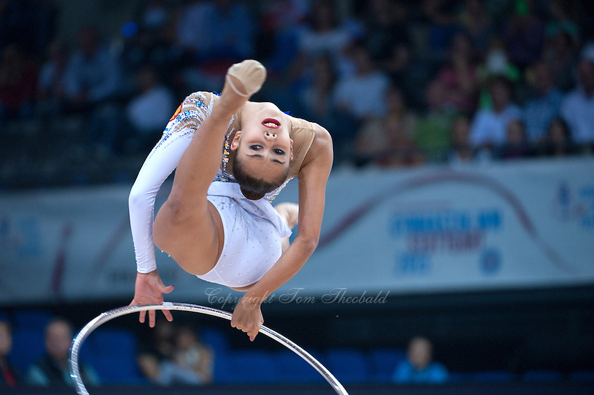 September 08, 2015 - Stuttgart, Germany - MARGARITA MAMUN of Russia performs during AA qualifications at 2015 World Championships.