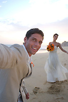 Sunset Beach Wedding. Photos for Pueblo Bonito Hotel's advertising campaign, agency Ogilvy. October, 2007