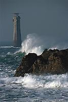 Europe/France/Bretagne/29/Finistère/Ile d'Ouessant: Phare de Nividic