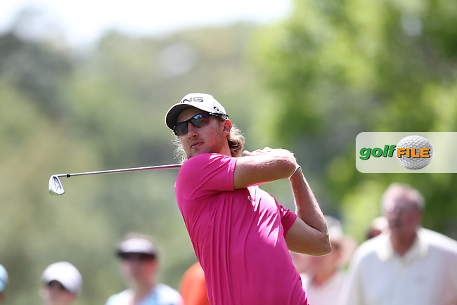 Derek Ernst of USA drives from the 2nd tee during the 3rd round of the Valspar Championship, Innisbrook Resort (Copperhead), Palm Harbor, Florida, USA<br /> Picture: Peter Mulhy / Golffile
