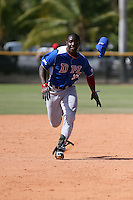 Yondry Contreras participates in the Dominican Prospect League 2014 Louisville Slugger Tournament at the New York Yankees academy in Boca Chica, Dominican Republic on January 20-21, 2014 (Bill Mitchell)