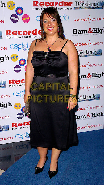 JANE KITT.Arrivals at The Ice Ball, The Brewery, .London, England, October 23rd 2006..full length black dress jane big brother.Ref: CAN.www.capitalpictures.com.sales@capitalpictures.com.©Can Nguyen/Capital Pictures