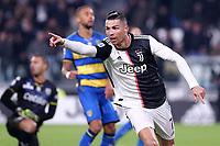 Cristiano Ronaldo of Juventus celebrates after scoring<br /> Torino 19/01/2020 Juventus Stadium <br /> Football Serie A 2019/2020 <br /> Juventus FC - Parma Calcio 1913 <br /> Photo OnePlusNine / Insidefoto