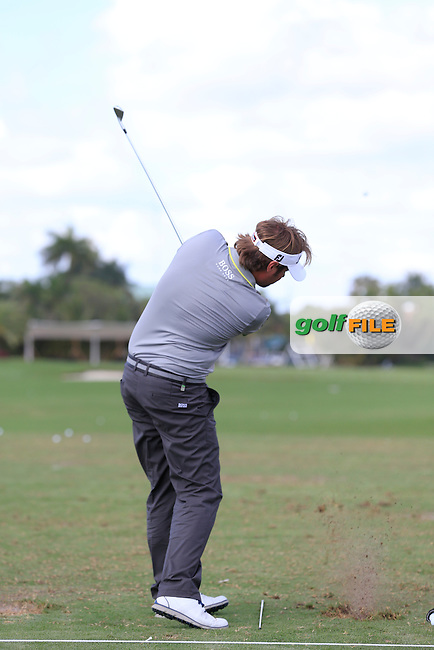 Victor DUBUISSON (FRA) during the practice round at the WGC Cadillac Championship, Blue Monster, Trump National Doral, Doral, Florida, USA<br /> Picture: Fran Caffrey / Golffile
