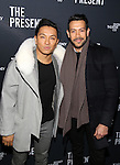 Prabal Gurung and guest attends the Broadway Opening Night Performance of 'The Present' at the Barrymore Theatre on January 8, 2017 in New York City.