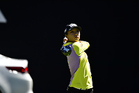 Lydia Ko (NZL) plays her shot from the first tee during the Final Round at the Kia Classic,Park Hyatt Aviara Resort, Golf Club &amp; Spa, Carlsbad, California, USA. 3/25/18.<br /> Picture: Golffile | Bruce Sherwood<br /> <br /> <br /> All photo usage must carry mandatory copyright credit (&copy; Golffile | Bruce Sherwood)
