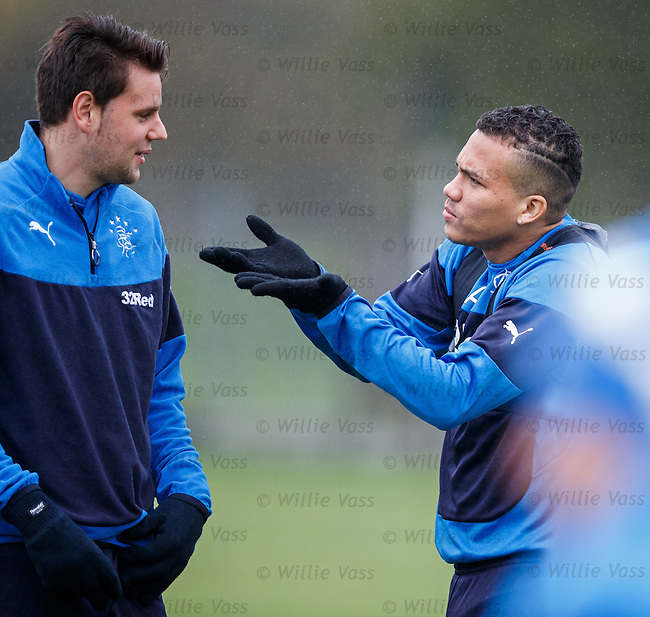 Arnold Peralta and Seb Faure
