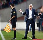Nederland, Amsterdam, 3 november 2012.Eredivisie.Seizoen 2012-2013.Ajax-Vitesse (0-2).Fred Rutten (r.), trainer-coach van Vitesse houdt gebaart verbaasd.