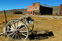 The historic ghost town of Bodie was once bustling gold mining town, Bodie State Historic Park, California.