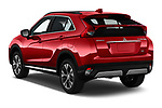 Car pictures of rear three quarter view of a 2019 Mitsubishi Eclipse-Cross SEL 5 Door SUV angular rear