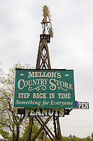 Mellon's Country Store in Mountain View Arkansas.