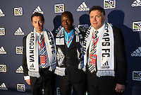 Darren Mattock 2nd pick of first round by Vancouver Whitecaps,with coaching and management team... The 2012 MLS Superdraft was held on January 12, 2012 at The Kansas City Convention Center, Kansas City, MO.