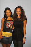 Guiding Light's Karla Mosley poses with Yvonna Wright at the 9th Annual Rock Show for Charity to benefit the American Red Cross of Greater New York on October 9, 2010 at the American Red Cross Headquarters, New York City, New York. (Photos by Sue Coflin/Max Photos)