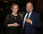 Carol Burnett and Stephen Sondheim attends 2017 Dramatists Guild Foundation Gala reception at Gotham Hall on November 6, 2017 in New York City.