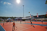 Netherlands, Rosmalen , June 10, 2015, Tennis, Topshelf Open, Autotron, Kidsday<br /> Photo: Tennisimages/Henk Koster