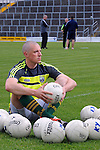 XXJOB: 11-6-2015: Kerry captain Kieran Donaghy at the Kerry team training night in Fitzgerald Stadium, Killarney on Thursday night.<br /> Picture by Don MacMonagle
