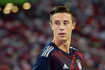 Bayern Munich Defender Marco Friedl Warming up during the International Champions Cup match between FC Bayern and FC Internazionale at National Stadium on July 27, 2017 in Singapore. Photo by Marcio Rodrigo Machado / Power Sport Images