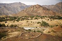 Eritrea. Anseba province. A muslim grave near the village of Gerdik.  © 2006 Didier Ruef