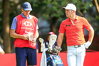 Paul Casey (ENG) on the 3rd tee during the 3rd round of the WGC HSBC Champions, Sheshan Golf Club, Shanghai, China. 02/11/2019.<br /> Picture Fran Caffrey / Golffile.ie<br /> <br /> All photo usage must carry mandatory copyright credit (© Golffile | Fran Caffrey)