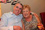 Gerard Owens and Margaret Hodgins at Tango's 6th Anniversary Party.<br /> Picture: Shane Maguire / www.newsfile.ie