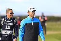 Bernd Wiesberger (AUT) on the 17th fairway during Round 3 of the Alfred Dunhill Links Championship 2019 at St. Andrews Golf CLub, Fife, Scotland. 28/09/2019.<br /> Picture Thos Caffrey / Golffile.ie<br /> <br /> All photo usage must carry mandatory copyright credit (© Golffile | Thos Caffrey)
