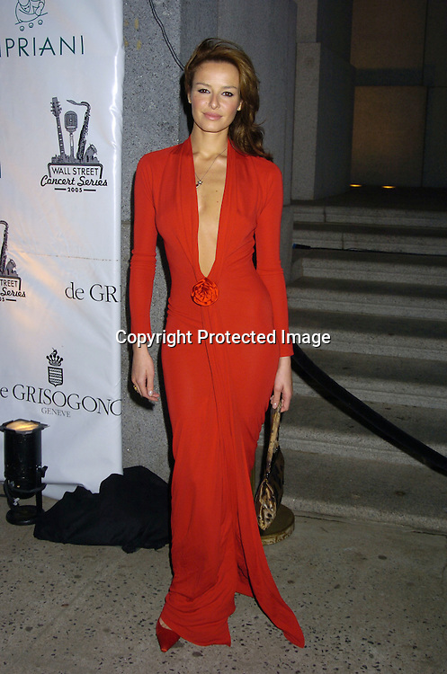 Caroline Parsons..at The Sheryl Crow Concert at The Cipriani Wall Street Concert on April 26, 2005 at Ciprianis on Wall Street. ..Photo by Robin Platzer, Twin Images