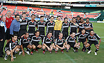 20 Octoboer 2007: Members of DC United's 1997 MLS Cup winning team pose with Univision's Fernando Fiore (back row, third from the left) before the game. The 1997 DC United team defeated Hollywood United 2-1 in the Marco Etcheverry tribute match played before a regular season MLS game at RFK Stadium in Washington, DC.