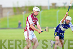 Causeway's Anthony Fealy and St Brendan's Alan Dineen.