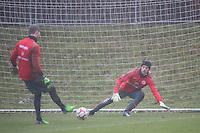 10.12.2014: Eintracht Frankfurt Training