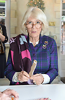 Camilla Duchess of Cornwall Visits The Fan Museum