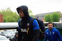 Anthony Watson and the rest of the Bath Rugby team arrive at Welford Road. Gallagher Premiership match, between Leicester Tigers and Bath Rugby on May 18, 2019 at Welford Road in Leicester, England. Photo by: Patrick Khachfe / Onside Images