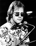 Elton John 1970 .© Chris Walter.
