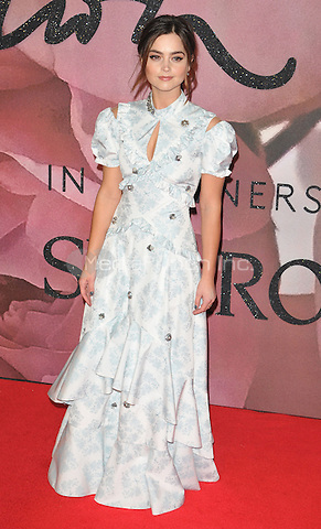 Jenna Coleman at the Fashion Awards 2016, Royal Albert Hall, Kensington Gore, London, England, UK, on Monday 05 December 2016. <br /> CAP/CAN<br /> ©CAN/Capital Pictures /MediaPunch ***NORTH AND SOUTH AMERICAS ONLY***