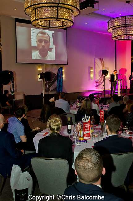 The Eastleigh Sports Awards for 2017, presented on Feb 8th 2018, at the 'Hilton at The Ageas Bowl'.<br /> Organised by The SPAA (Eastleigh Sport and Physical Activity Alliance).