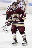 Allie Thunstrom (Boston College - 9) - The Boston College Eagles defeated the Northeastern University Huskies 3-1 in the opening round of the Beanpot on Tuesday, February 3, 2009, at Matthews Arena in Boston, Massachusetts.