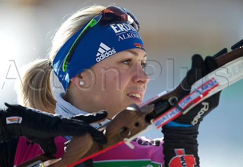 08.12.2011. Hochfilzen, Austria. women Magdalena Nine ger taking part in the IBU Biathlon World Cup