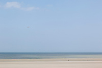 21 MAY 2011 - DUNKERQUE, FRA - The beach at Dunkerque (Dunkirk) (PHOTO (C) NIGEL FARROW)
