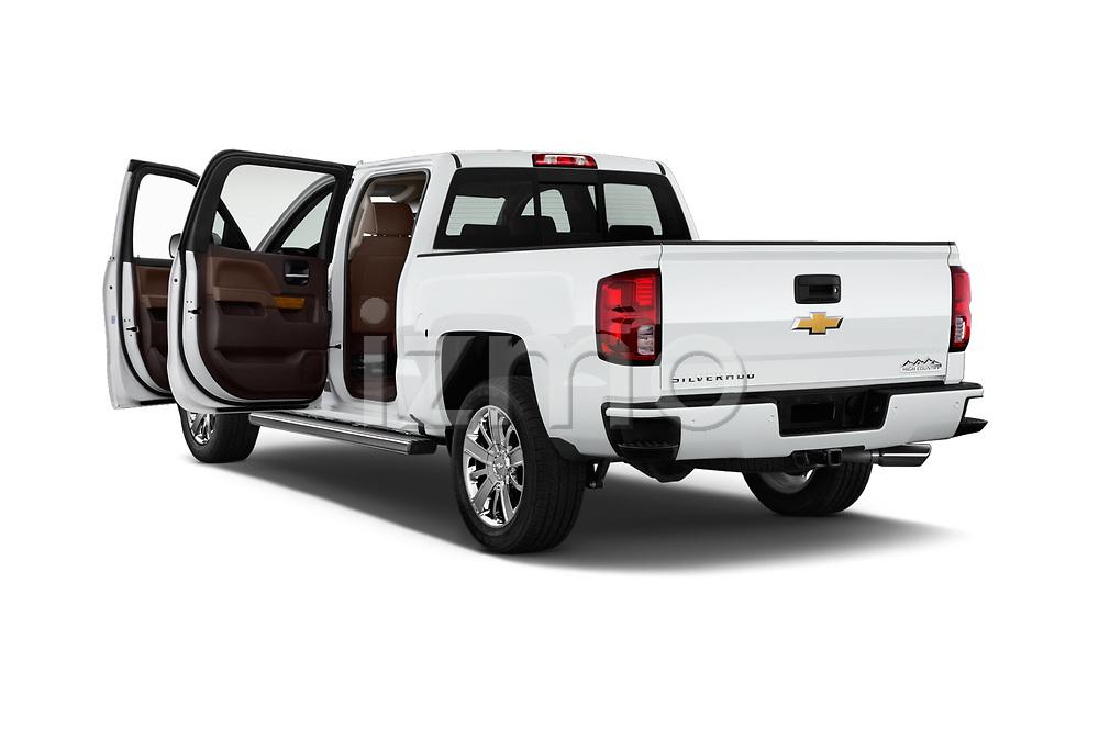 Car images of 2018 Chevrolet Silverado-1500 High-Country-Crew 4 Door Pickup Doors