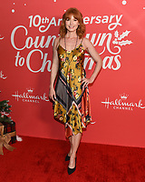 "20 November 2019 - Hollywood, California - Alicia Witt. Hallmark Channel's 10th Anniversary Countdown to Christmas - ""Christmas Under the Stars"" Screening and Party. Photo Credit: Billy Bennight/AdMedia"