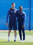 17.05.2019 Rangers training: Borna Barisic and Jermain Defoe