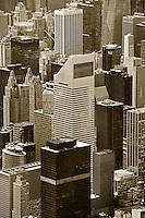 aerial photograph Citigroup Center, 601 Lexington Ave, Manhattan, New York City