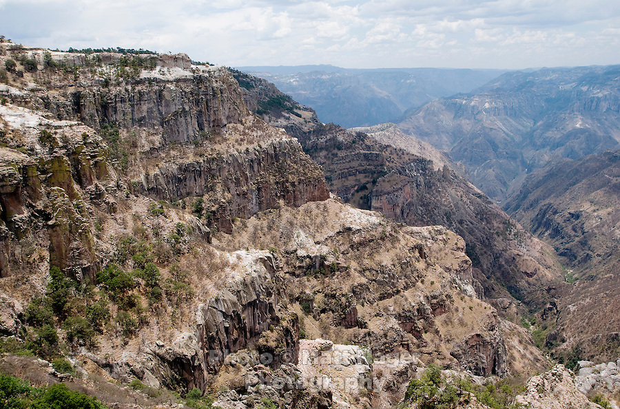 The stop at the Divisadero rest area lends to the best view Copper Canyon has to offer at about 7,300 feet in elevation. Three canyons crisscross and meet at this point lending to the most dramatic cliffs and drops in the canyon...PHOTOS/ MATT NAGER