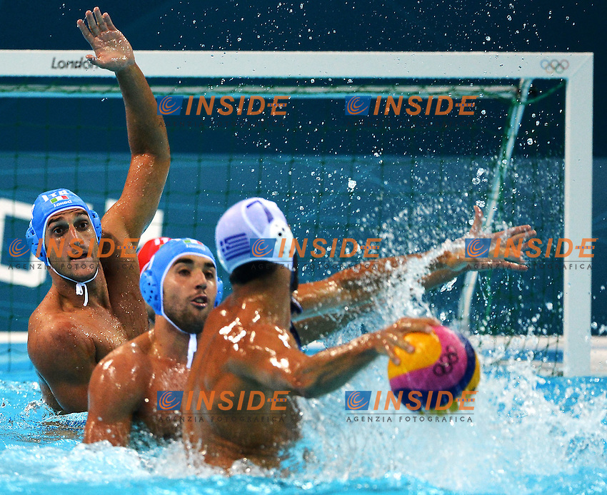 Valentino Gallo.London 31/7/2012 Water Polo Arena.London 2012 Olympic games - Olimpiadi Londra 2012.Water Polo - Pallanuoto.Foto Andrea Staccioli Insidefoto
