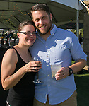 Jesse Kleinedler and Scott Emond from Under the Rose Brewery during the Art of Childhood Gala and Fundraiser at Montreux Golf and Country Club on Friday, August 24, 2018.