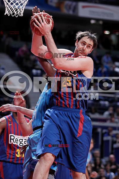 FC Barcelona Regal's Erazem Lorbek during Liga Endesa ACB match.January 13,2012. (ALTERPHOTOS/Acero)