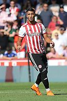 Brentford's recent signing, Said Benrahma during Brentford vs Rotherham United, Sky Bet EFL Championship Football at Griffin Park on 4th August 2018