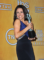 Julia Louis-Dreyfus at the 20th Annual Screen Actors Guild Awards at the Shrine Auditorium.<br /> January 18, 2014  Los Angeles, CA<br /> Picture: Paul Smith / Featureflash