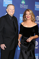 PALM SPRINGS - JAN 17:  Burt Sugerman, Mary Hart at the 30th Palm Springs International Film Festival Awards Gala at the Palm Springs Convention Center on January 17, 2019 in Palm Springs, CA