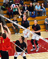 Stanford Volleyball M vs Calgary, January 2, 2018