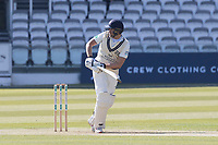 David Malan of Middlesex CCC plays the ball fine to leg and sets off for a single during Middlesex CCC vs Lancashire CCC, Specsavers County Championship Division 2 Cricket at Lord's Cricket Ground on 11th April 2019